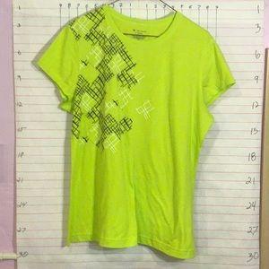 TEK GEAR women's tee sz XL green